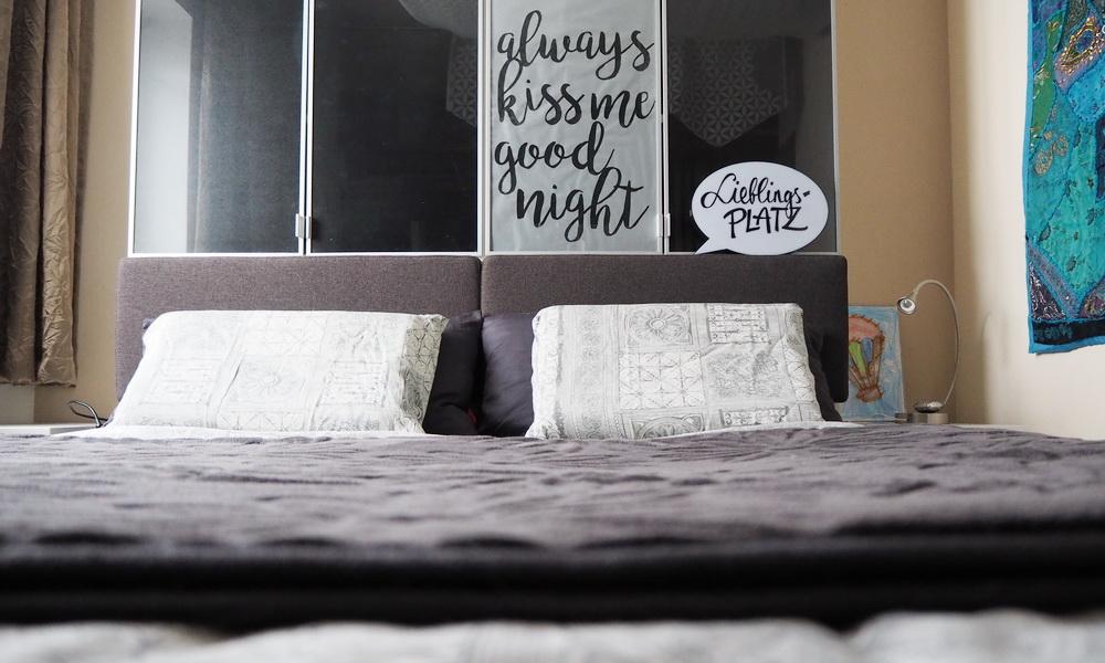 Schlafzimmer vorher-nacher: vom Familienbett zum Lieblingsplatz | UNIVERSAL Versand