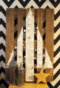 Upcycling: Weihnachtsbaum aus Europalette. Alternativer Christbaum selbstgemacht, DIY Tannenbaum Anleitung #weihnachtsbaum #christbaum #diy #upcycling