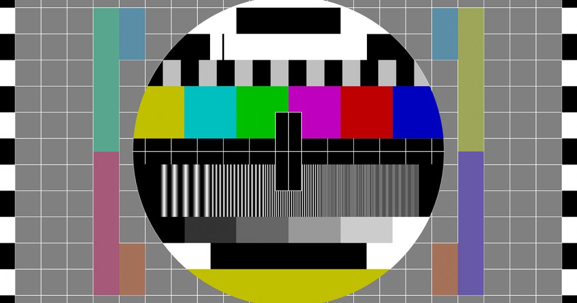 TV-Lieblinge von Kindern, Testbild Fernsehen