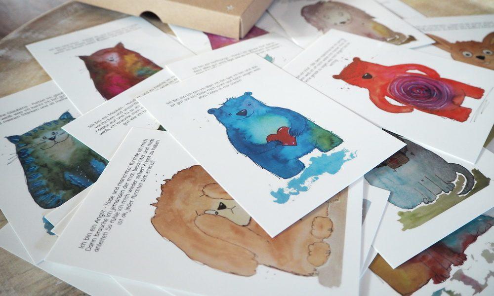 Kraftkarten für Kinder