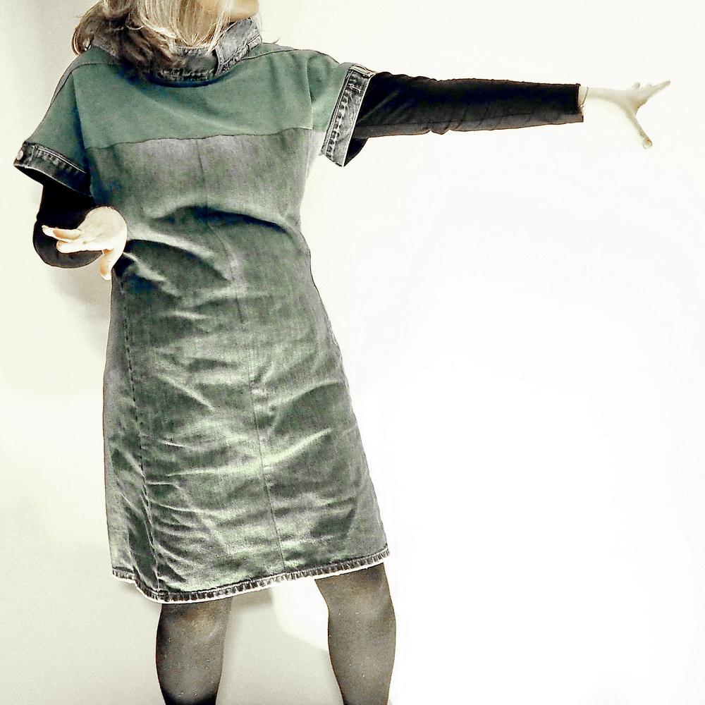 Upcycling: Muttis neues Kleid aus pensionierten Herrenhosen: Kleines Wiener Label namens Milch haucht alten Klamotten neues Leben ein