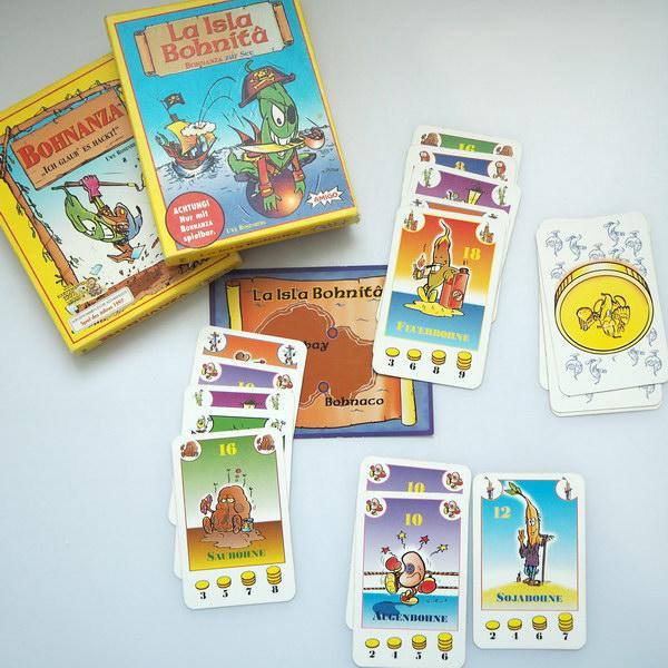 Spiele für Familien: Bohnanza