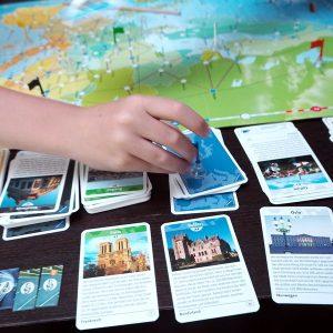 Familienspiel: Europareise