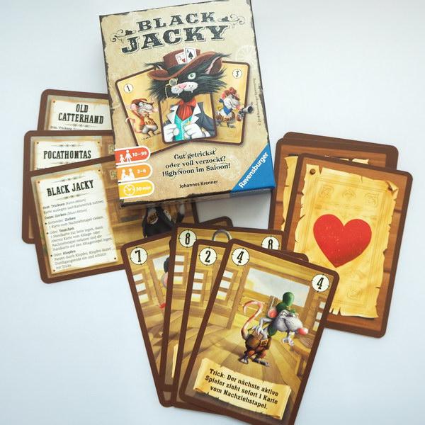 Spiele für Familien: Black Jacky