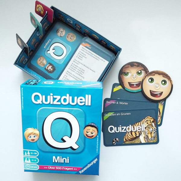 Spiele für Familien: Quizduell