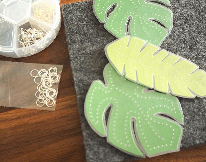 DIY Ohrringe Aus Papier Und Fimo
