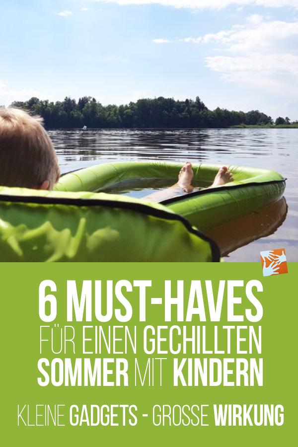 6 Must-haves für einen gechillten Sommer mit Kindern