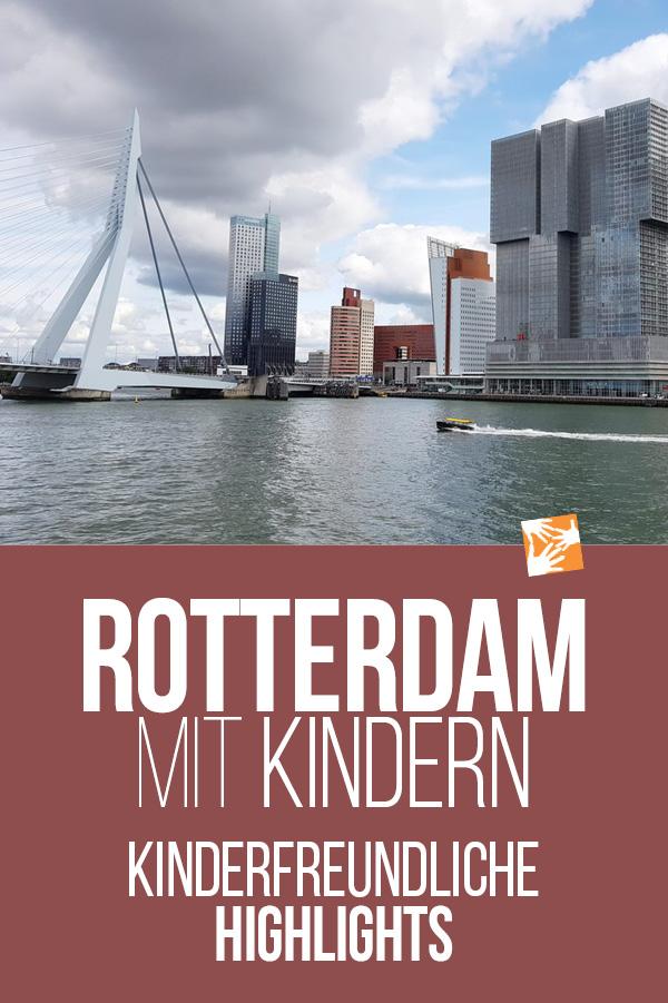 Rotterdam mit Kind