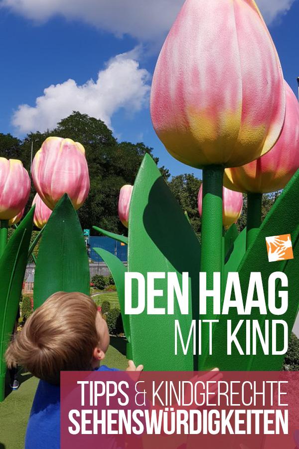 Den Haag mit Kind