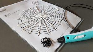 DIY Halloween-Verkleidung mit dem 3D-Stift - Making of