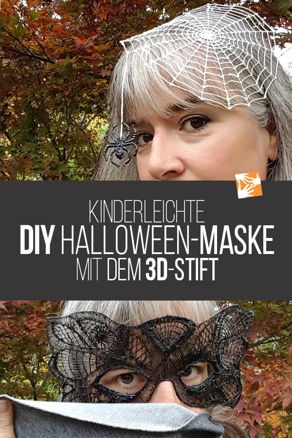 DIY Halloween-Maske mit dem 3D-Stift