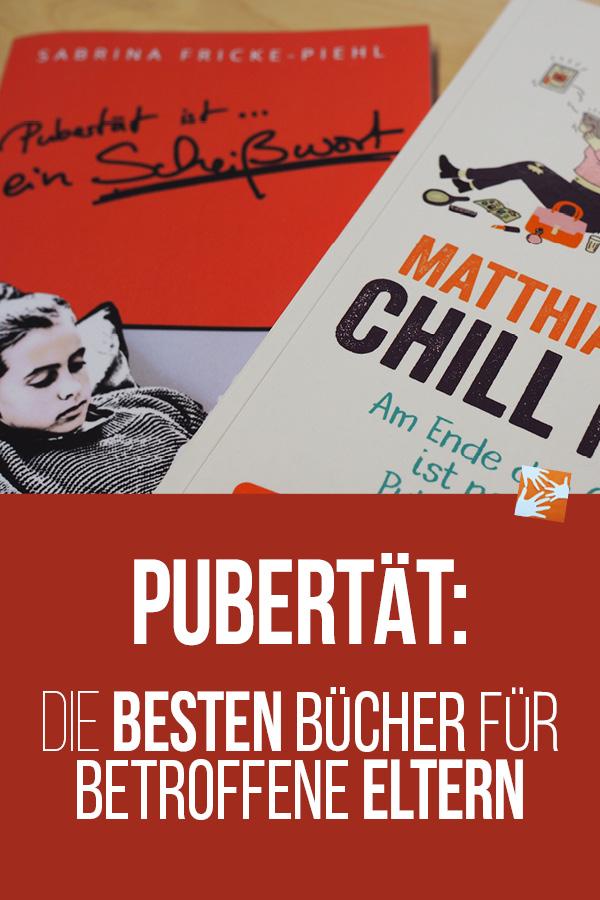 Pubertät: Die besten Bücher für betroffene Eltern