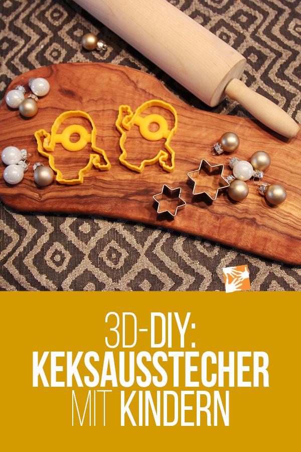 3D-DIY: Keksausstecher mit Kindern drucken