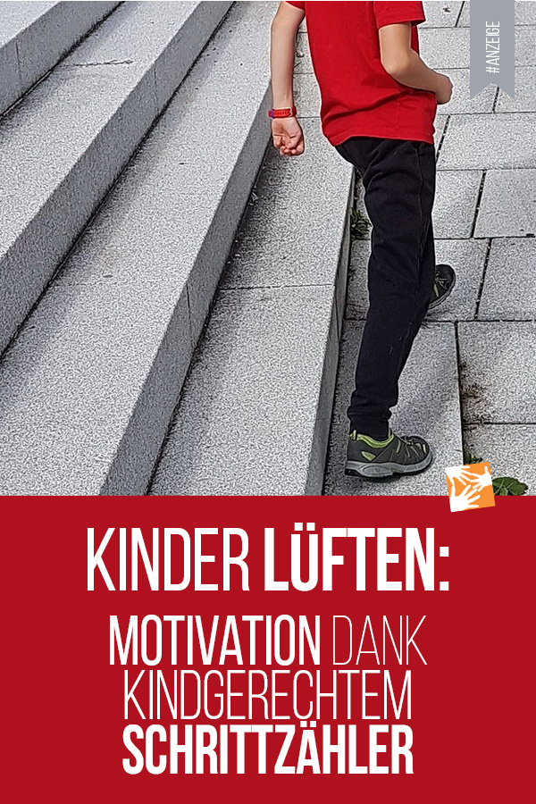 Kinder lüften: Motivation dank kindgerechter Action-Watch Garmin vívofit® jr. 2