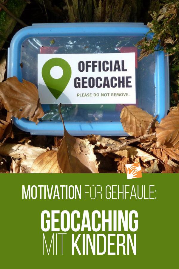 Motivation für Gehfaule: Geocaching mit Kindern
