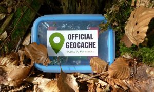 Geocaching mit Kind: Tipp für's Wochenende mit gehfaulen Kindern