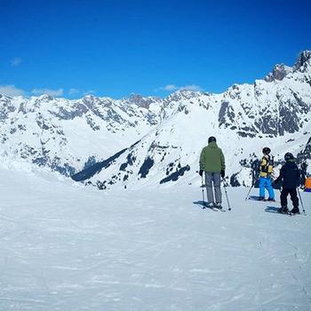 Winter mit Kind: Skifahren