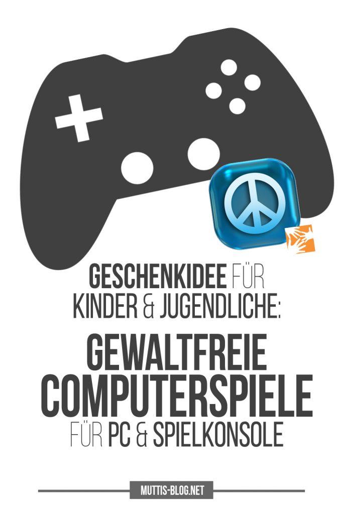 Geschenkidee für Kinder und Jugendliche: Gewaltfreie Computerspiele für PC und Spielkonsole