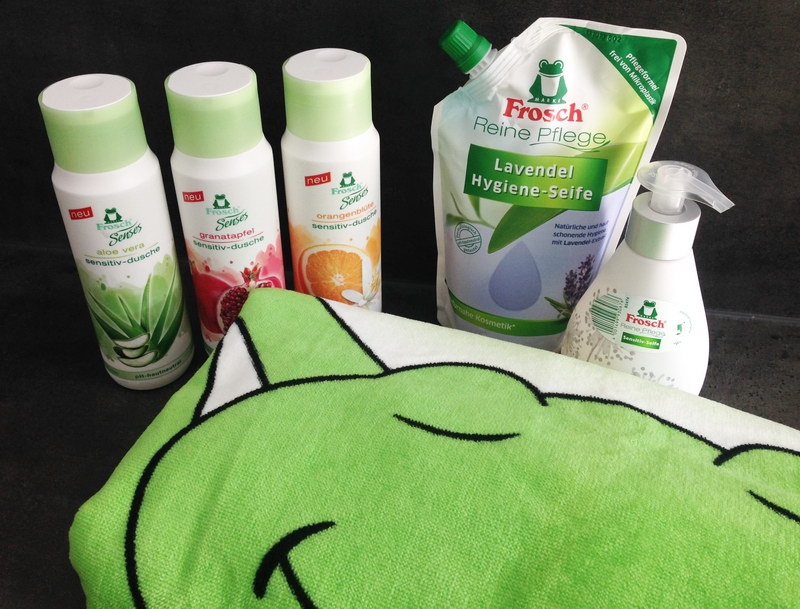 Nachhaltigkeit im Bad: Frosch Wohlfühlpaket gewinnen