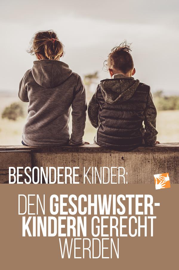 Besondere Kinder: Den Geschwistern gerecht werden
