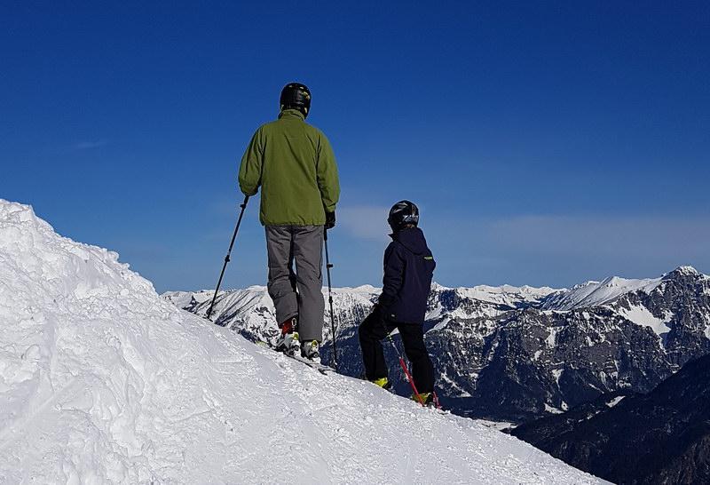 Skifahren mit Kind: Bewegungsberg Golm, Montafon