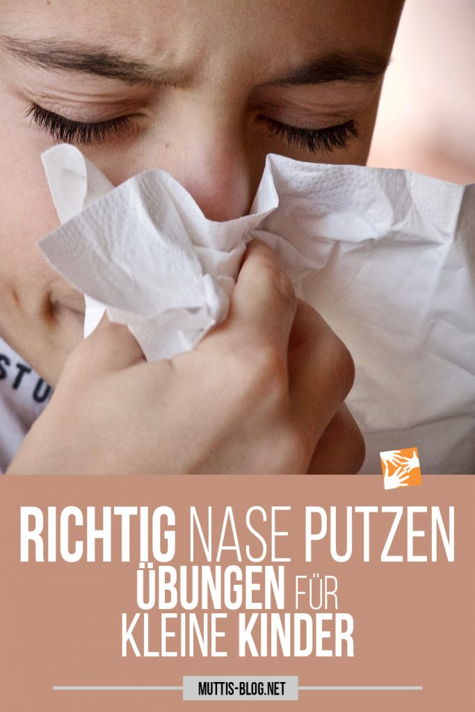 Richtig Nase putzen lernen, Schnäuzen lernen, Ist Nase hochziehen schädlich?