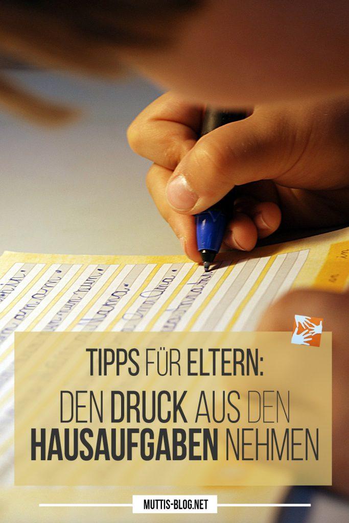 Tipps für Eltern: Wie Eltern den Druck aus den Hausaufgaben nehmen können