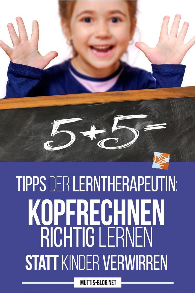 Richtig kopfrechnen lernen statt Kinder verwirren - Tipps für Eltern