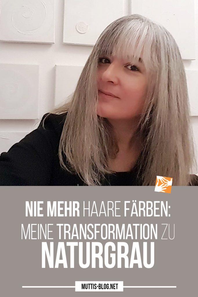Nie mehr Haare färben: Meine Transformation zu Naturgrau #grombre #embracethegray #silversister