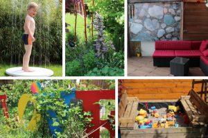 Unser kreativer Familiengarten auf kleinstem Raum