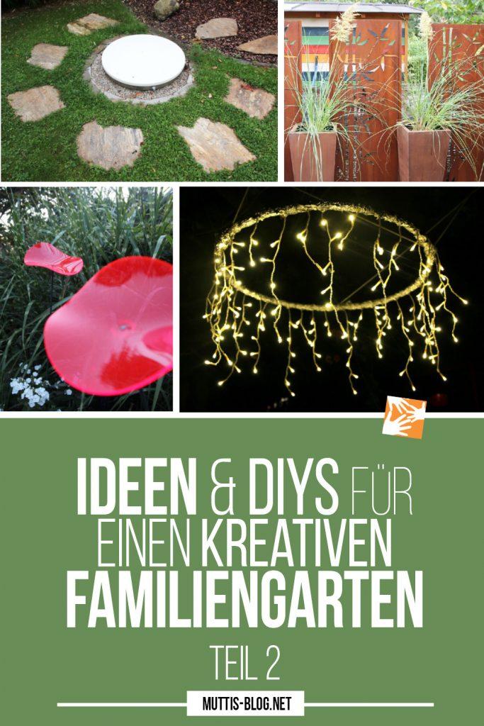 Familienfreundlicher Garten: Ideen und DIYs für einen kreativen Familiengarten - Teil 2