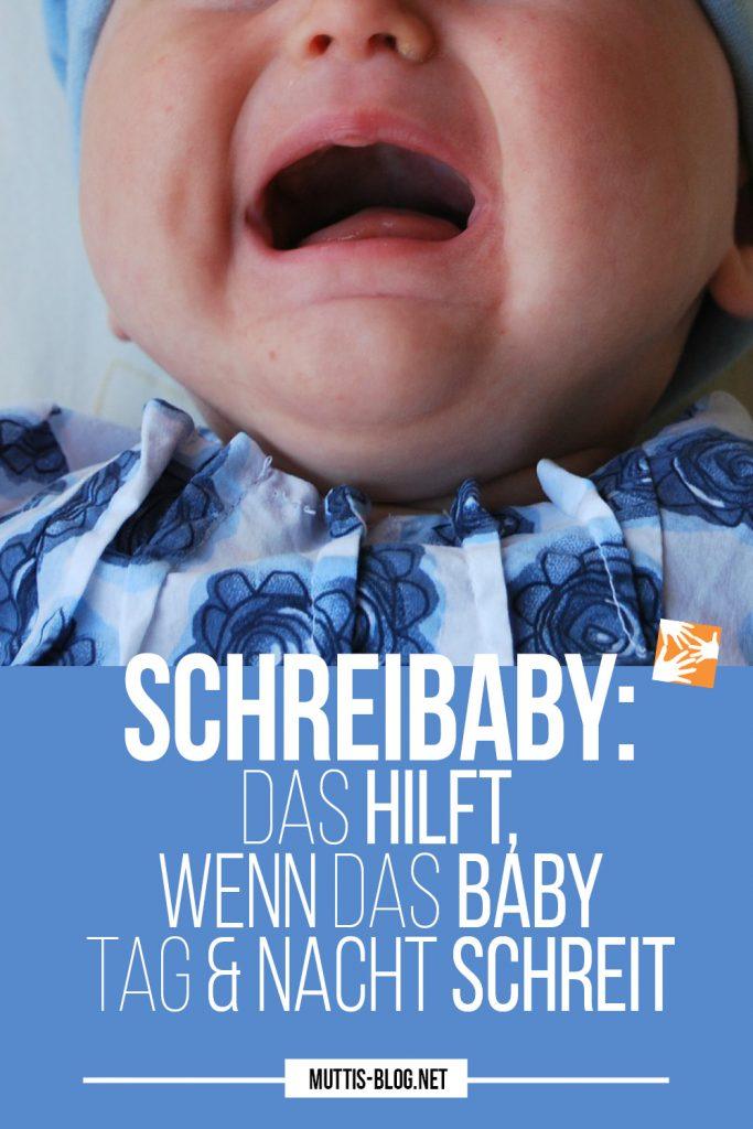 Schreibaby: Das hilft, wenn das Baby anhaltend schreit