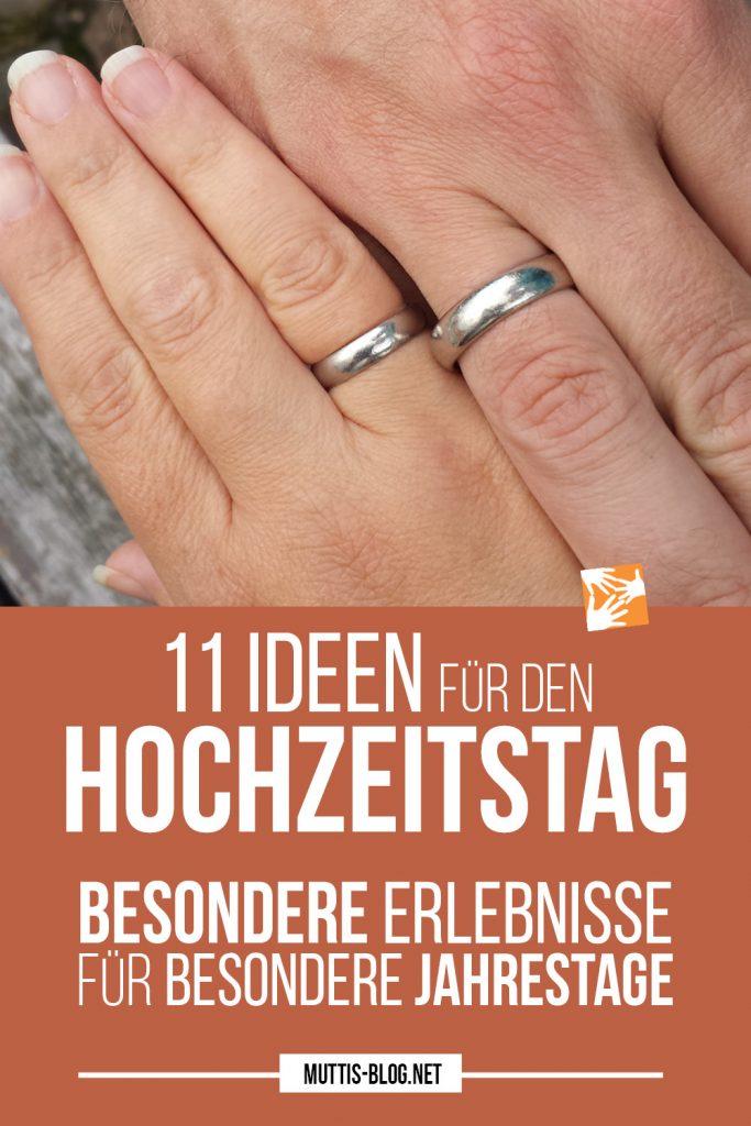11 Ideen für den Hochzeitstag: Besondere Erlebnisse für besondere Jahrestage