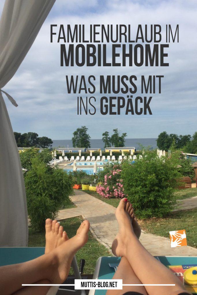 Familienurlaub im Mobilehome: Das muss mit ins Gepäck - Packliste