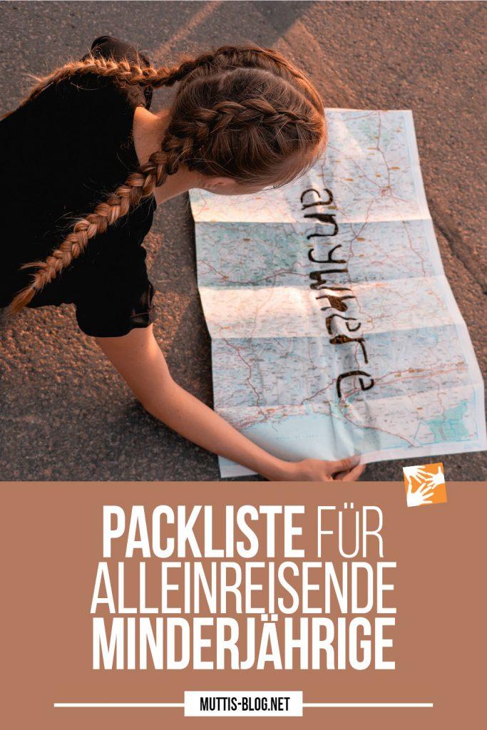 Packliste für allein reisende Minderjährige: Alleinreisende Teenager