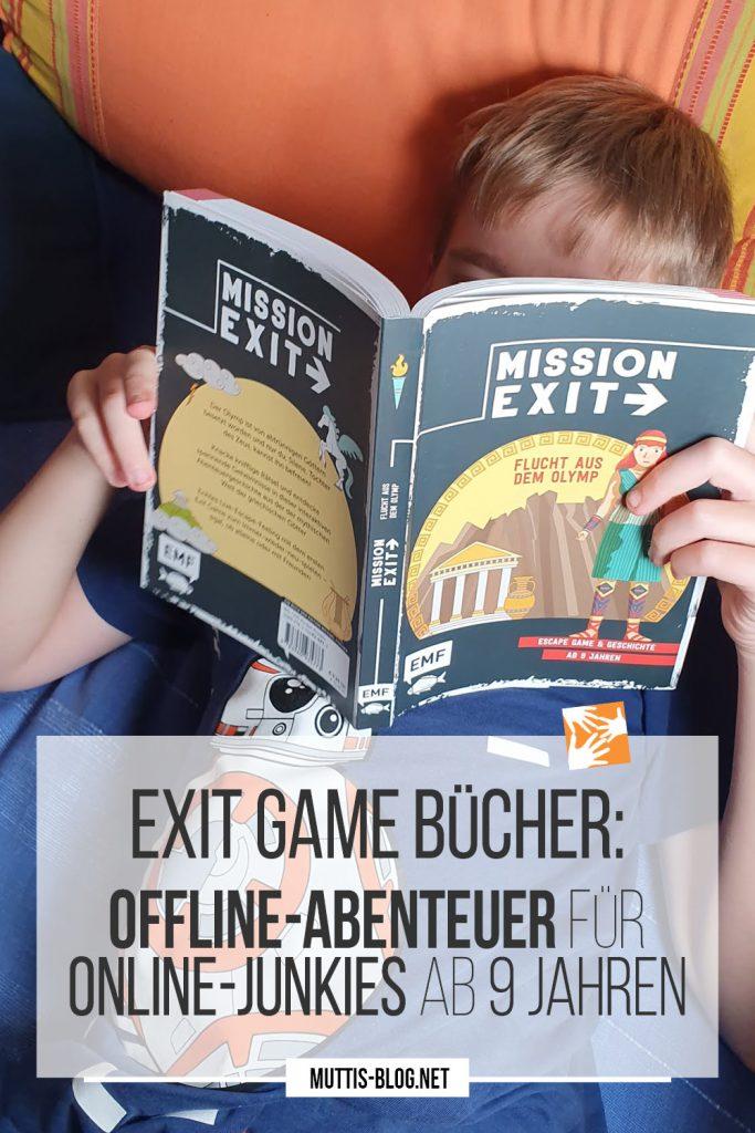 Exit Game Bücher: Offline-Abenteuer für Online-Junkies ab 9 Jahren