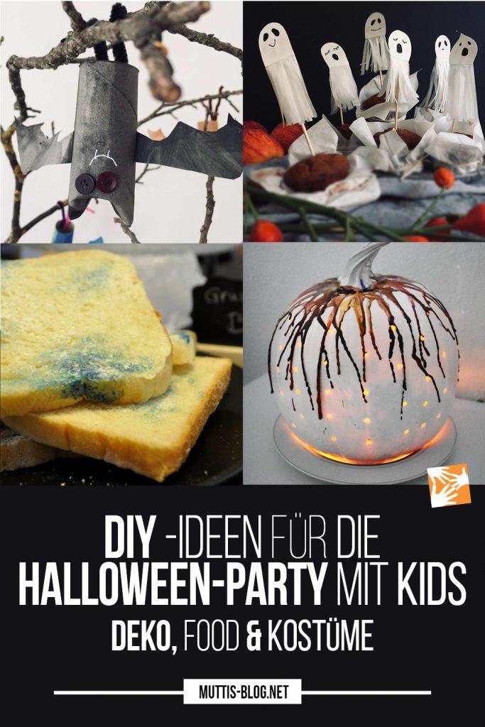 DIY-Ideen für die Halloween-Party mit Kindern