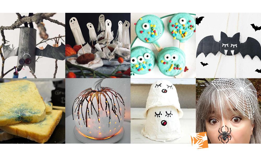 Die besten Ideen für eine kindertaugliche Halloween-Party