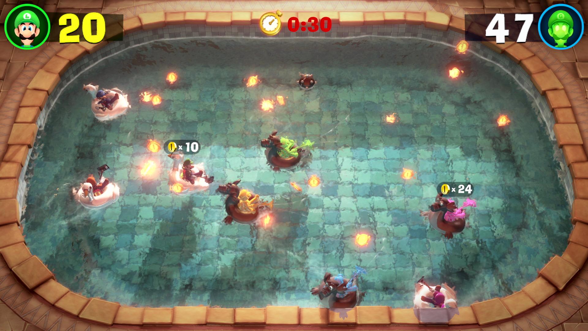Luigi's Mansion 3: Minispiel