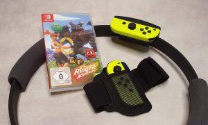 Dieses Spiel macht Couch Potatoes Beine: Nintendo Ring Fit Adventure