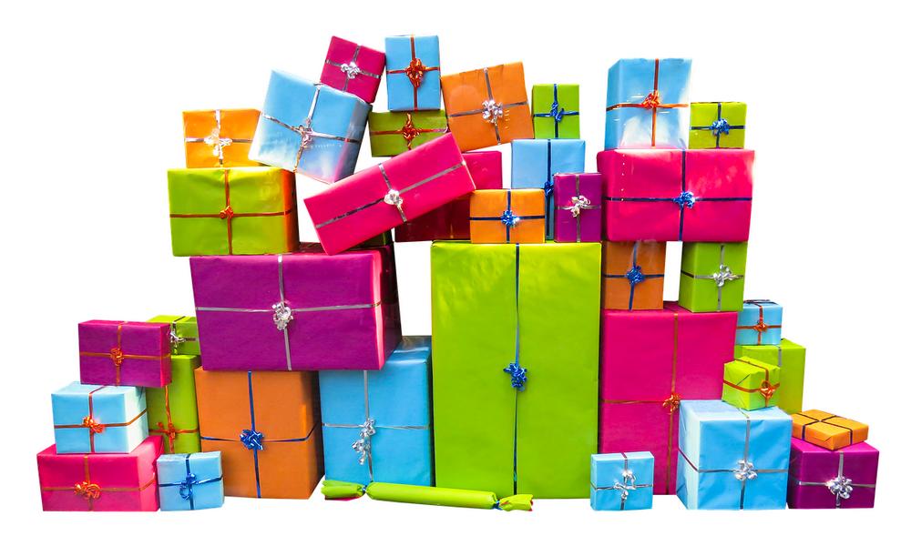 Schenken einmal anders: Lustiges Geschenkespiel