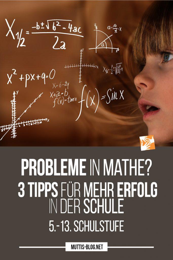 Probleme in Mathe? 3 Tipps für mehr Erfolg in der Schule