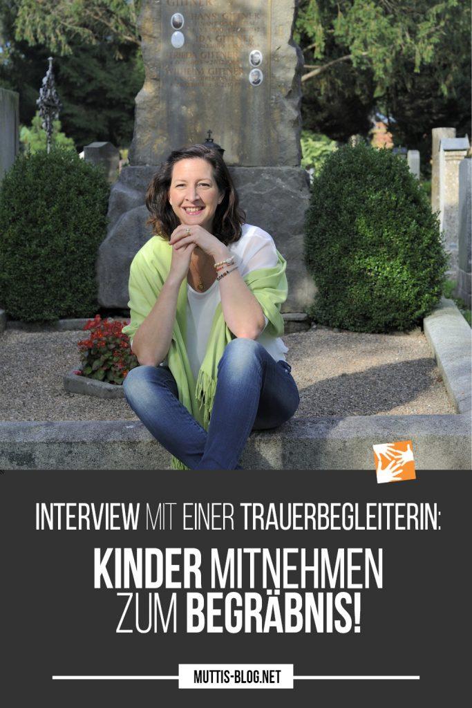Interview mit einer Trauerbegleiterin: Kinder unbedingt mitnehmen zum Begräbnis