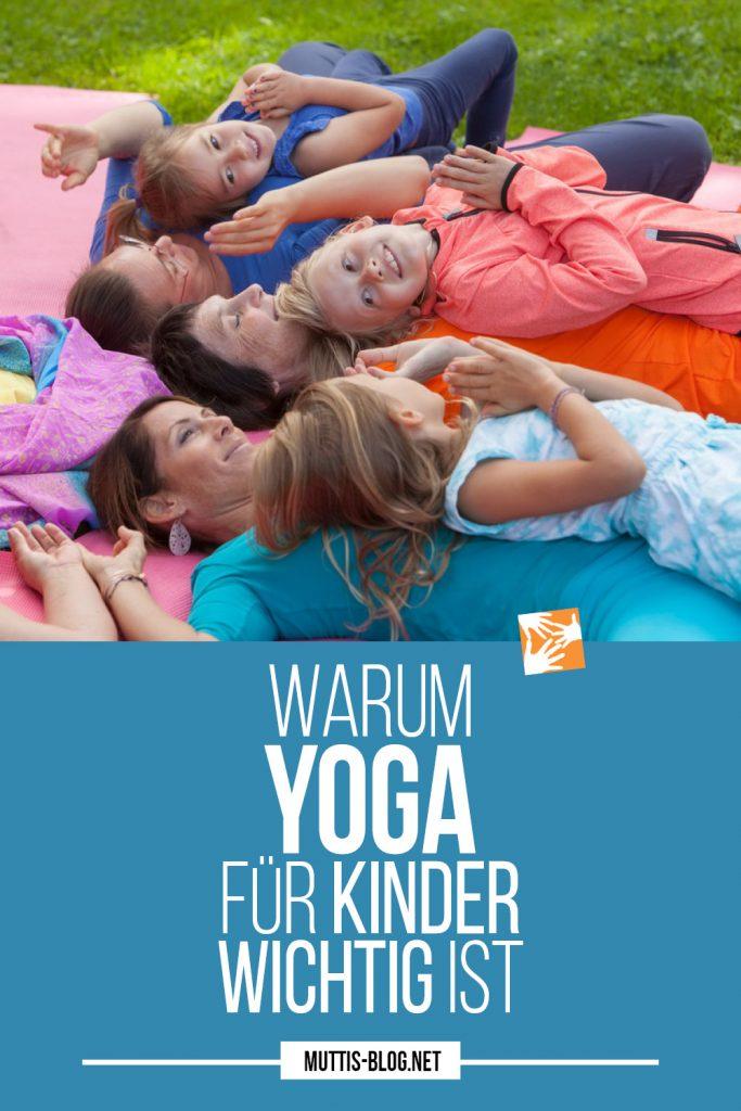 Warum Yoga für Kinder wichtig ist