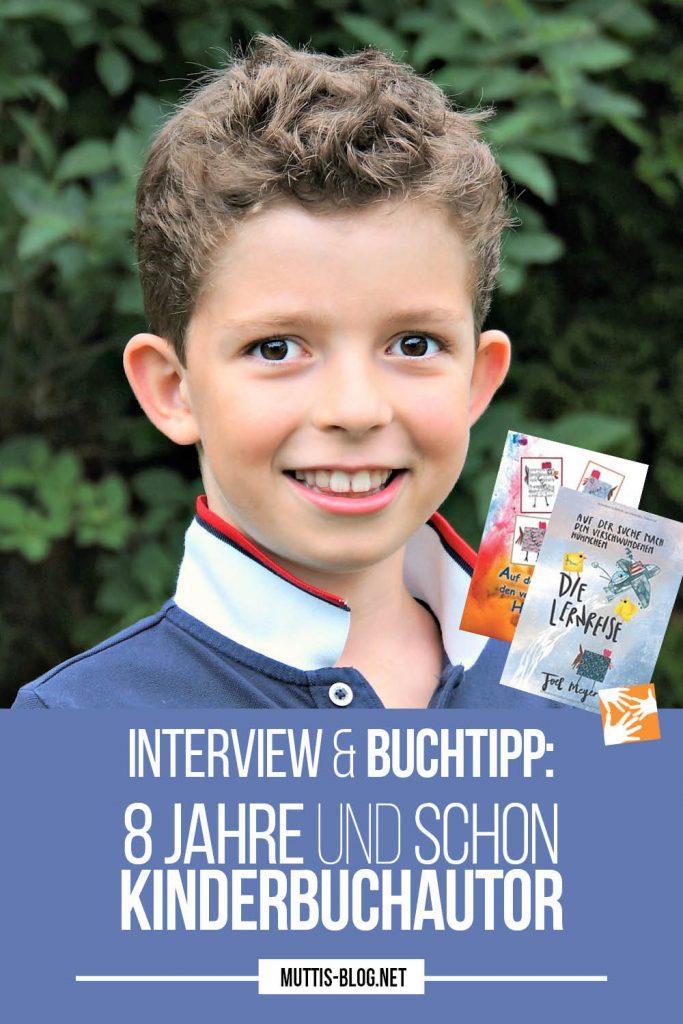Interview und Buchtipp: 8 Jahre und schon Kinderbuchautor