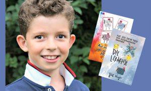 Interview & Buchtipp: 8 Jahre und schon Kinderbuchautor
