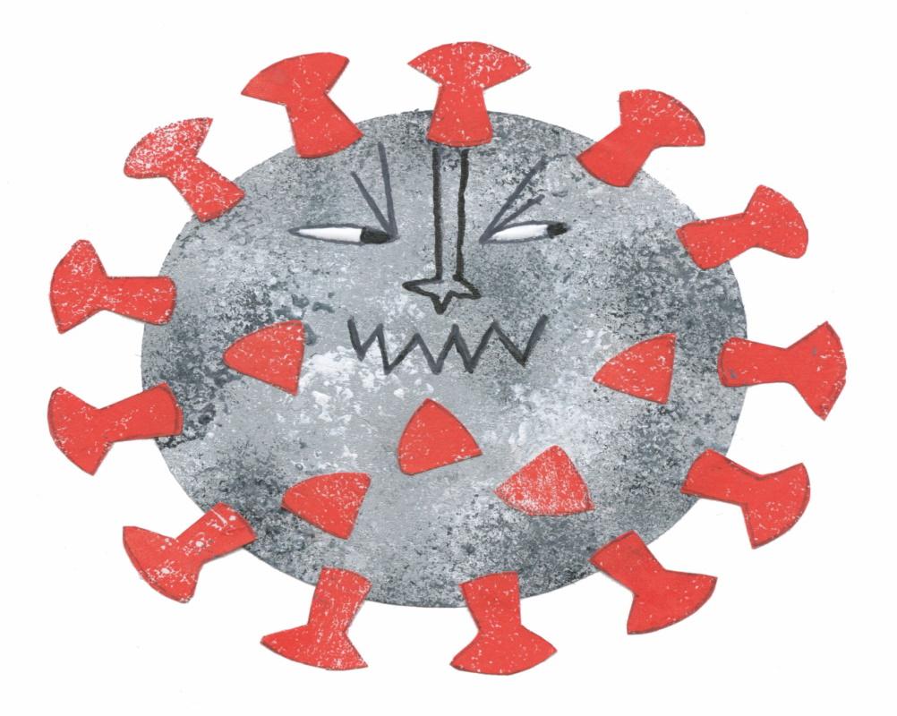 Richtiges Verhalten bei Virus-Erkrankungen kindgerecht erklärt: Buch gewinnen
