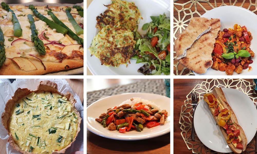 Quarantäneküche: 7 schnelle & gesunde Familienrezepte vegetarisch