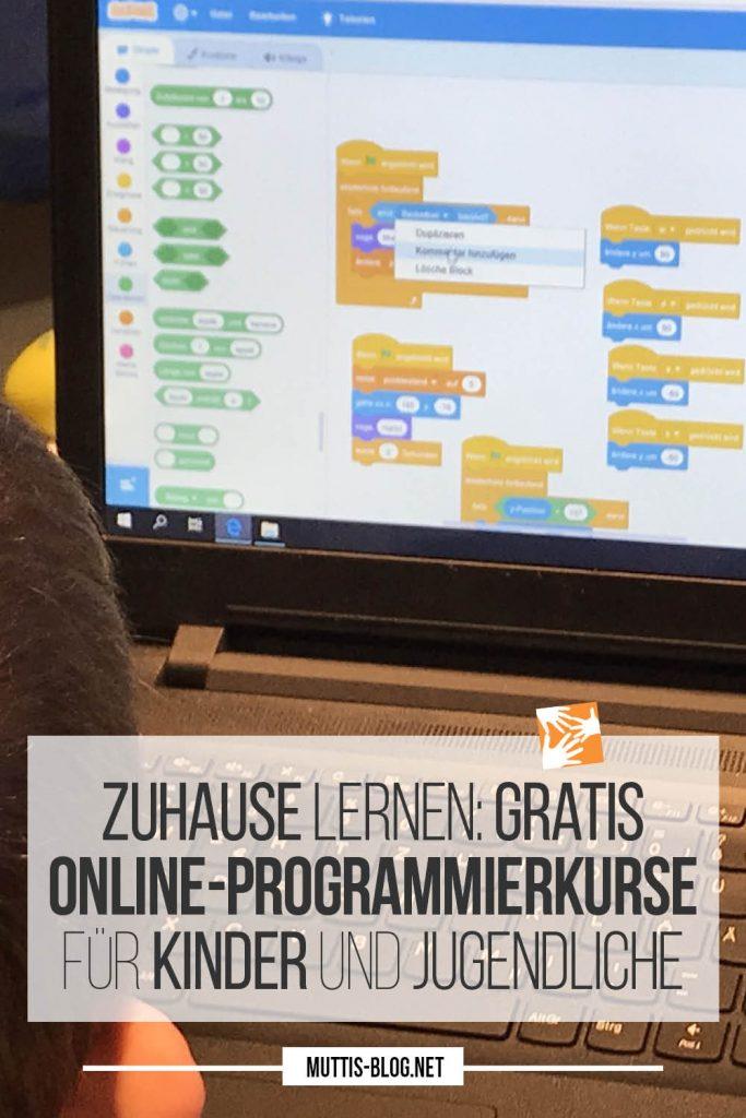 Zuhause Programmieren lernen: Gratis Online-Programmierkurse für Kinder und Jugendliche