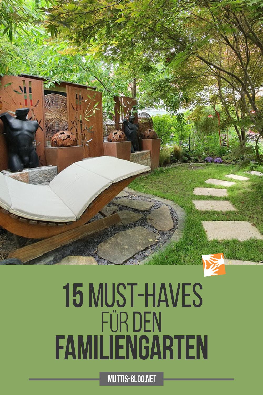 15 Musthaves für den Familiengarten